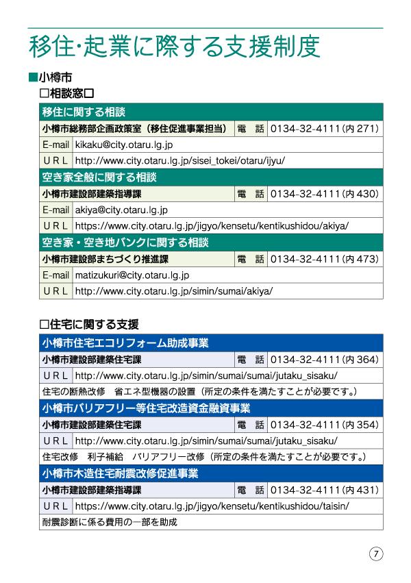 小樽移住・起業支援ハンドブック-09
