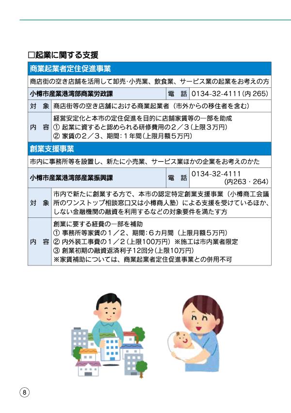 小樽移住・起業支援ハンドブック-10
