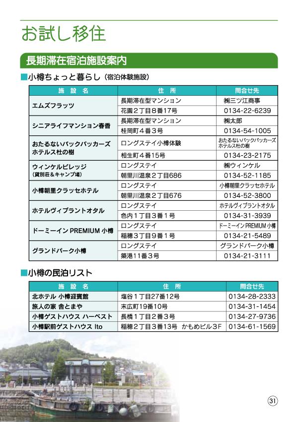 小樽移住・起業支援ハンドブック-33