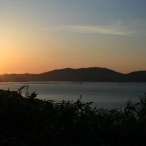 5月19日の小樽の夕日